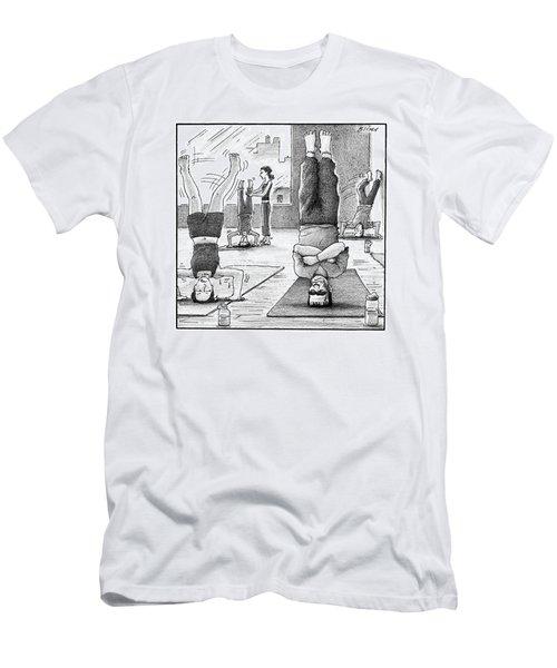 Frankenstein's Monster Easily Balances Men's T-Shirt (Athletic Fit)