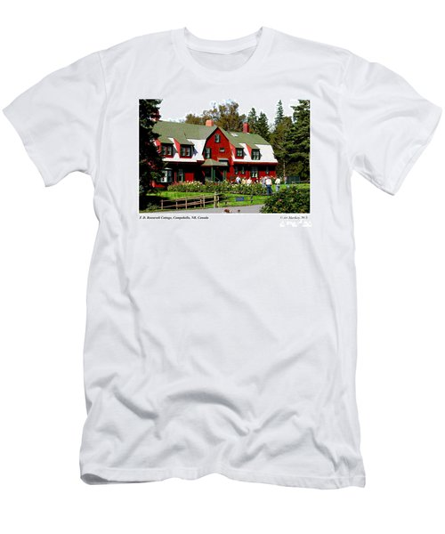 Franklin D. Roosevelt Cottage Campobello Nb Men's T-Shirt (Athletic Fit)