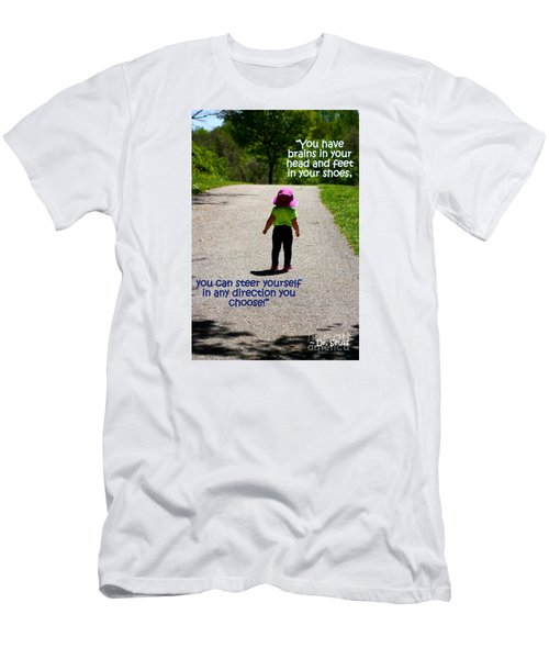 Momentary Freedom Men's T-Shirt (Athletic Fit)