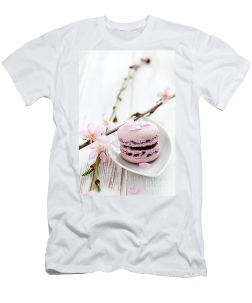 French Macaroons Men's T-Shirt (Athletic Fit)