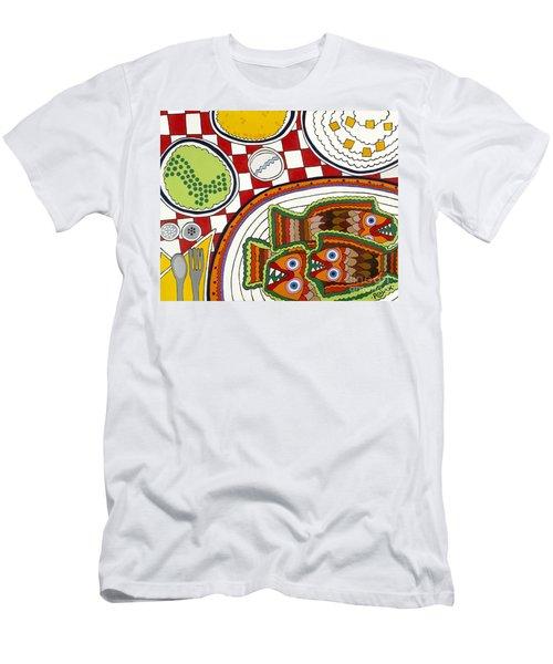 Friday Men's T-Shirt (Slim Fit) by Rojax Art