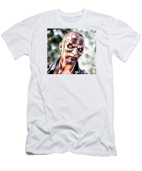 Men's T-Shirt (Athletic Fit) featuring the photograph Frightfulness Bones by Stwayne Keubrick