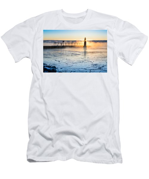 Frigid Sunrise Fog  Men's T-Shirt (Athletic Fit)