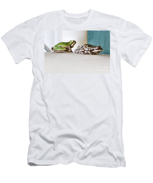 Frog Flatulence - A Case Study Men's T-Shirt (Athletic Fit)