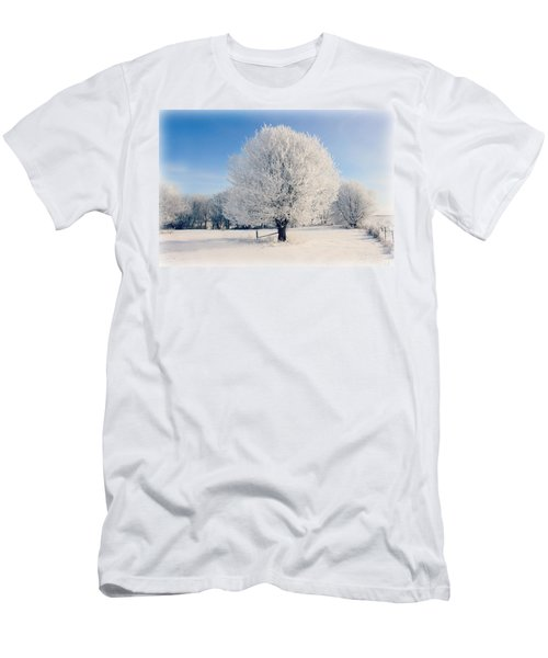 Frosty Glow Men's T-Shirt (Athletic Fit)