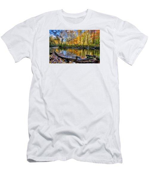 Full Box Of Crayons Men's T-Shirt (Slim Fit) by Debra and Dave Vanderlaan