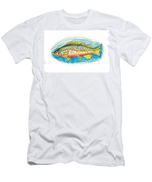 Funky Trout Men's T-Shirt (Athletic Fit)