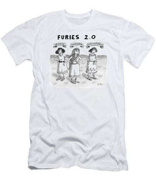 Furies 2.0 -- Ironia Men's T-Shirt (Athletic Fit)