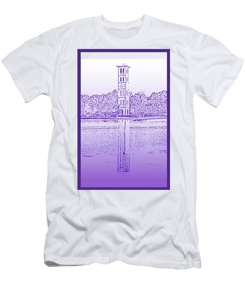 Furman Bell Tower Men's T-Shirt (Athletic Fit)