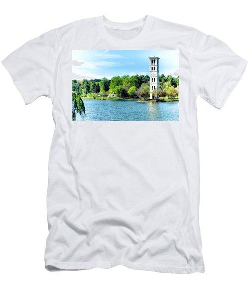 Furman Lake Men's T-Shirt (Athletic Fit)