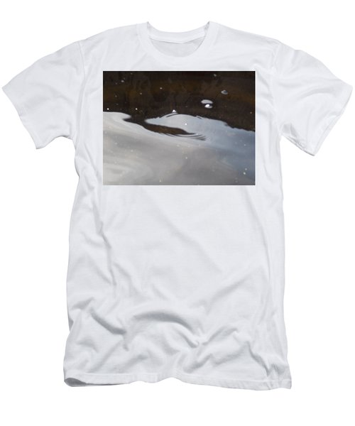 Water In Space  Men's T-Shirt (Slim Fit) by Deborah Moen