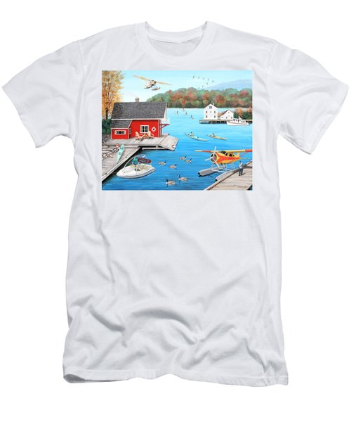 Galloping Goose Lake Men's T-Shirt (Athletic Fit)