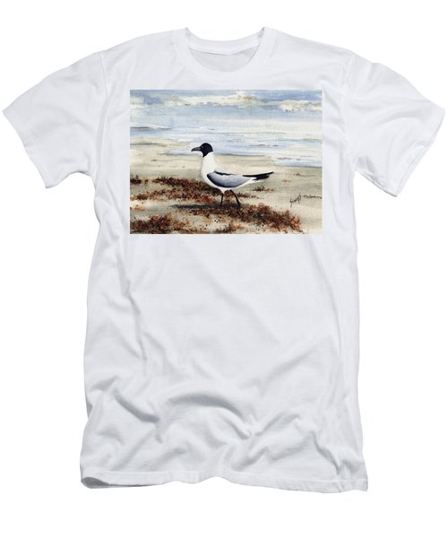 Galveston Gull Men's T-Shirt (Athletic Fit)