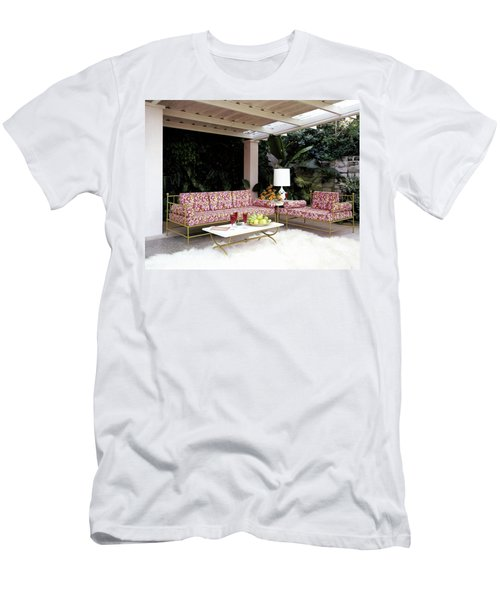 Garden-guest Room At The Chimneys Men's T-Shirt (Athletic Fit)