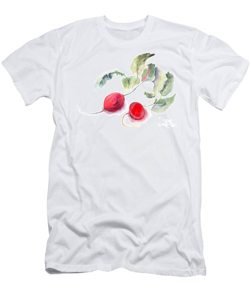 Garden Radish Men's T-Shirt (Athletic Fit)