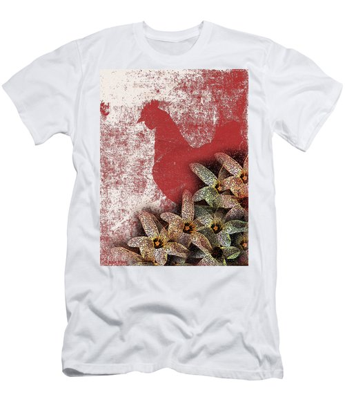 Garden Rooster Men's T-Shirt (Athletic Fit)
