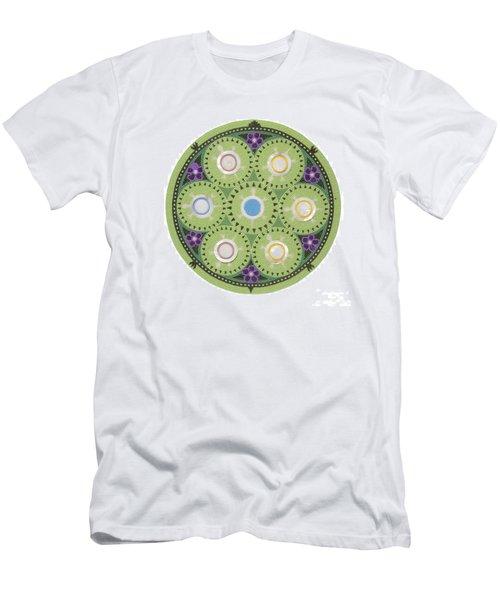 Cradleboard Beadwork Men's T-Shirt (Athletic Fit)