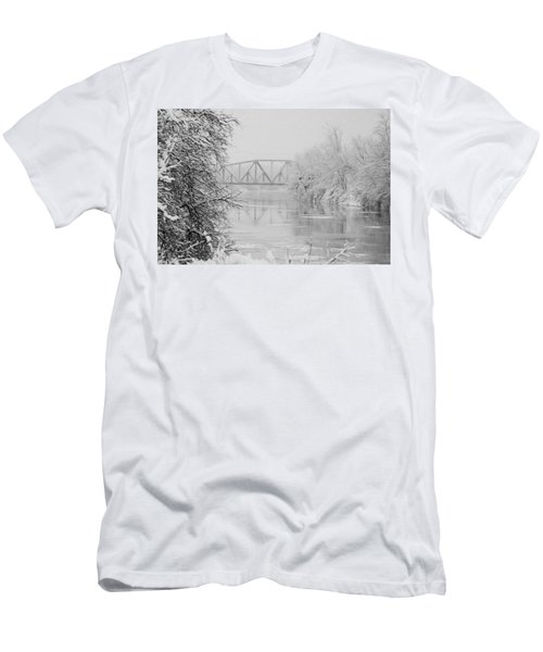 Genesee River Men's T-Shirt (Athletic Fit)