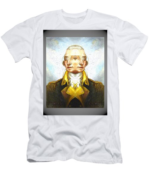 George-washington 1 Men's T-Shirt (Athletic Fit)