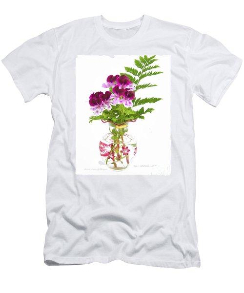 Geranium 'witchwood' Men's T-Shirt (Athletic Fit)