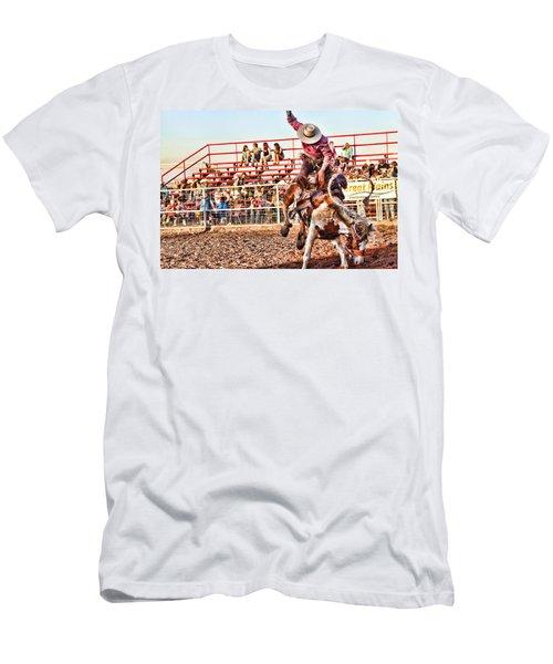 Get Off My Back Men's T-Shirt (Slim Fit) by Toni Hopper