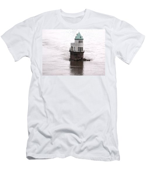Ghost In The Window Men's T-Shirt (Slim Fit) by Kelly Awad