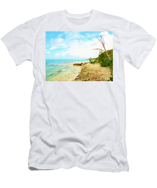 Men's T-Shirt (Slim Fit) featuring the photograph Ghost Tree by Amar Sheow