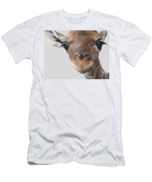 Giraffe Baby Men's T-Shirt (Athletic Fit)