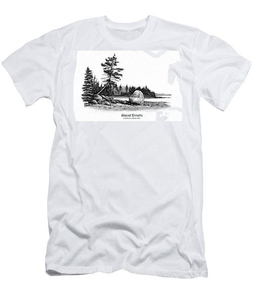 Glacial Erratic Men's T-Shirt (Athletic Fit)