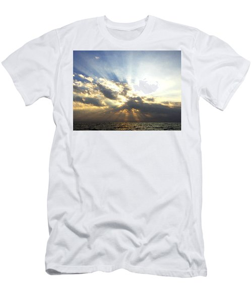 Glorious Rays Of Sunshine Men's T-Shirt (Athletic Fit)