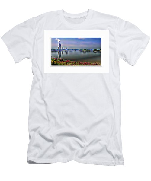 Glowing 3 Mile Island Men's T-Shirt (Athletic Fit)
