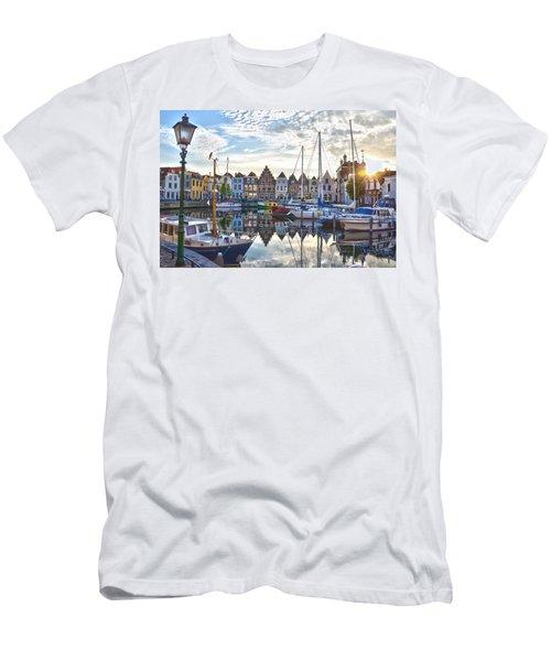 Goes Harbour Men's T-Shirt (Slim Fit) by Frans Blok