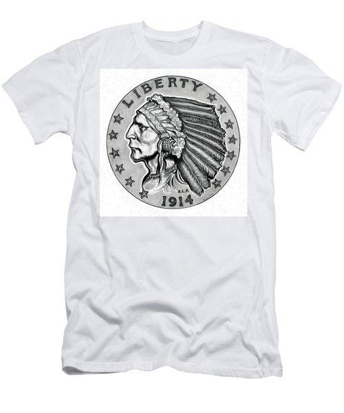 Gold Quarter Eagle Men's T-Shirt (Athletic Fit)