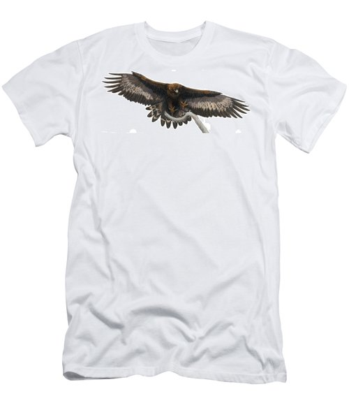 Golden Landing Men's T-Shirt (Slim Fit) by Pat Erickson