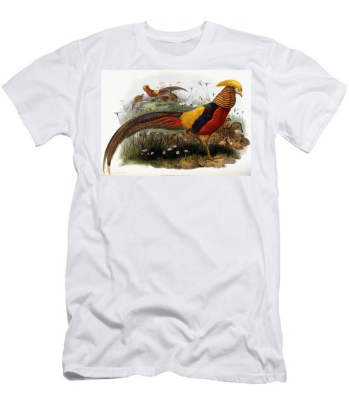 Golden Pheasants Men's T-Shirt (Athletic Fit)