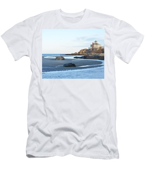 Good Harbor Beach Men's T-Shirt (Athletic Fit)