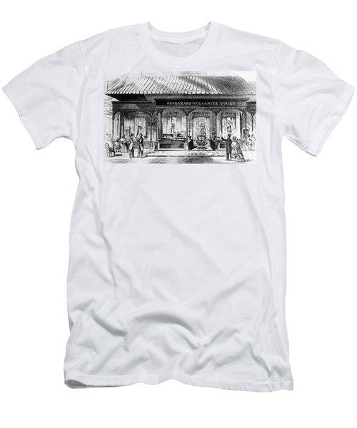 Goodyear Rubber Exhibit Men's T-Shirt (Slim Fit) by Underwood Archives