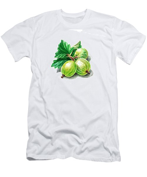 Gooseberry Painting Men's T-Shirt (Athletic Fit)