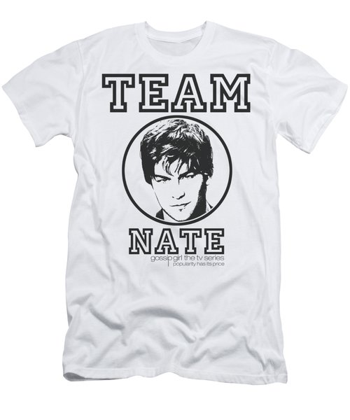 Gossip Girl - Team Nate Men's T-Shirt (Athletic Fit)