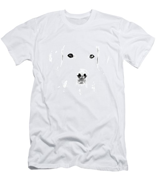 Dog Face Men's T-Shirt (Slim Fit) by Mike Santis