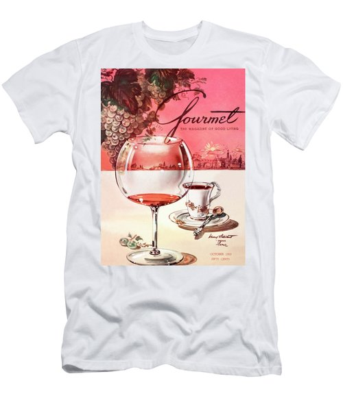 Gourmet Cover Illustration Of A Baccarat Balloon Men's T-Shirt (Athletic Fit)