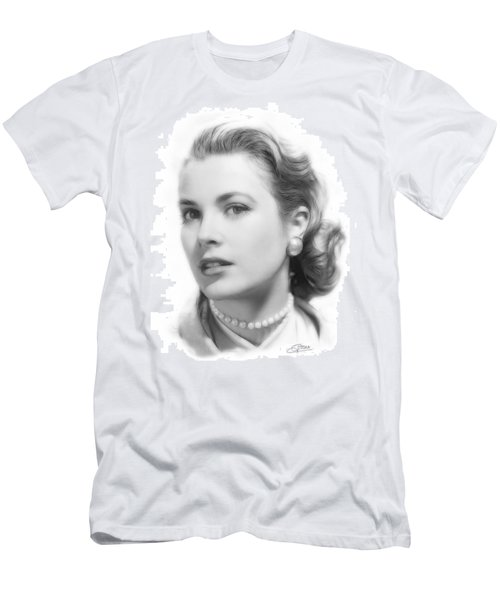 Grace Kelly Pencil Men's T-Shirt (Athletic Fit)