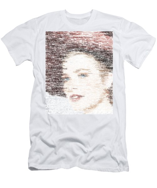 Grace Kelly Typo Men's T-Shirt (Athletic Fit)