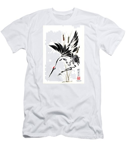 Grace Of Descent Men's T-Shirt (Slim Fit) by Bill Searle