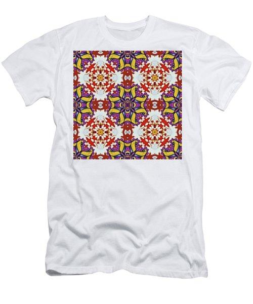 Graffito Kaleidoscope 40 Men's T-Shirt (Athletic Fit)