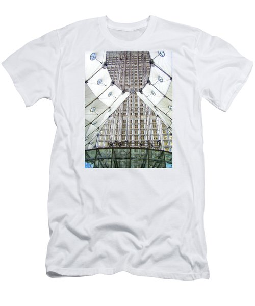Grand Arche  Men's T-Shirt (Slim Fit) by Oleg Zavarzin