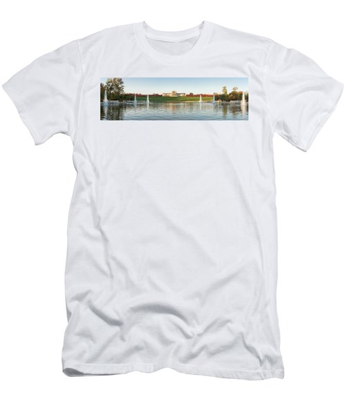 Grand Basin In Autumn Men's T-Shirt (Athletic Fit)