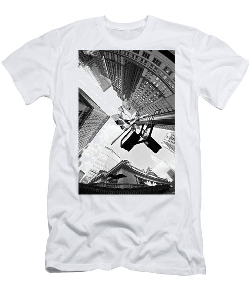 Grand Central America Men's T-Shirt (Athletic Fit)