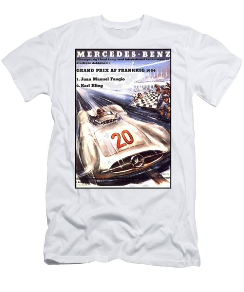 Grand Prix F1 Reims France 1954  Men's T-Shirt (Athletic Fit)