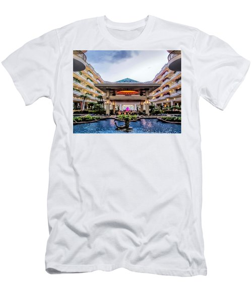 Men's T-Shirt (Slim Fit) featuring the photograph Grand Wailea 74 by Dawn Eshelman